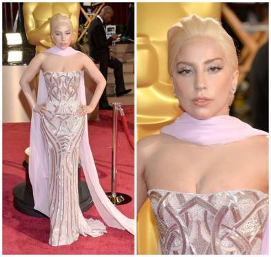 Lady-Gaga-adorned-her-Versace-gown-with-pink-gold-jewelry-by-Lorraine-Schwartz