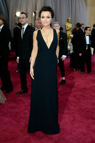 Samantha+Barks+Red+Carpet+Arrivals+Oscars+6QBsOdVKiQXl