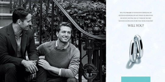Tiffany Co Gay engagement