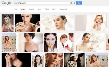 woman jeweler