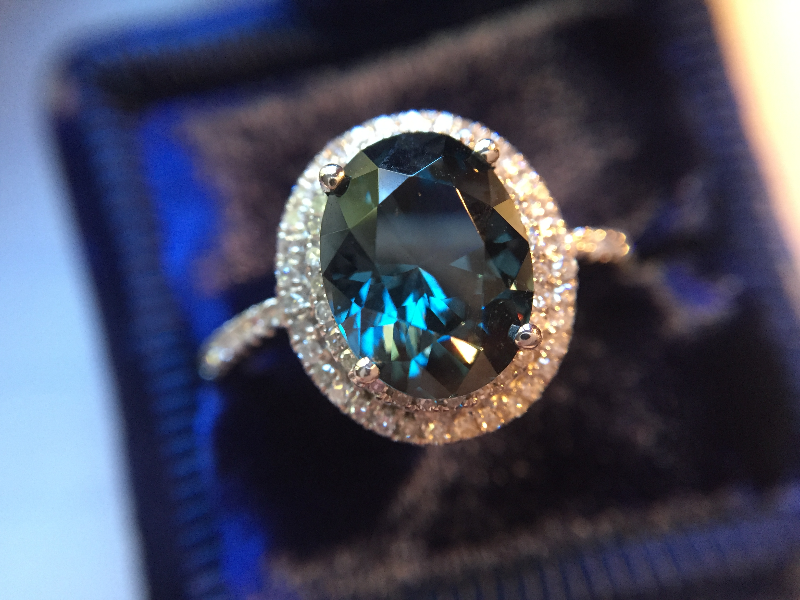photo listing fullxfull genuine gallery blue sapphire engagement il carat dark ring