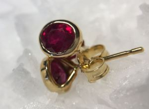 ruby-earrings